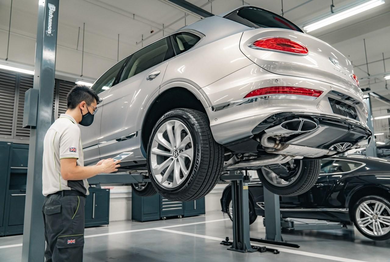 Bentley Việt Nam ưu đãi 20% cho khách hàng bảo dưỡng chính hãng - ảnh 1