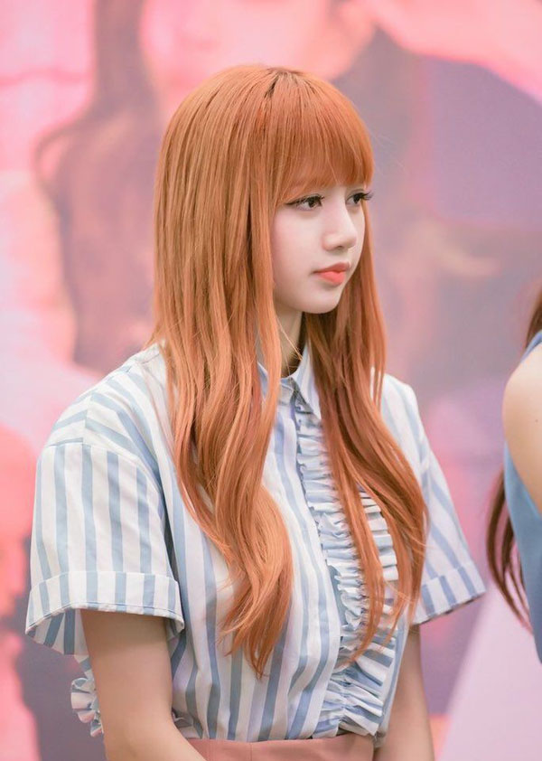 Những màu tóc cam