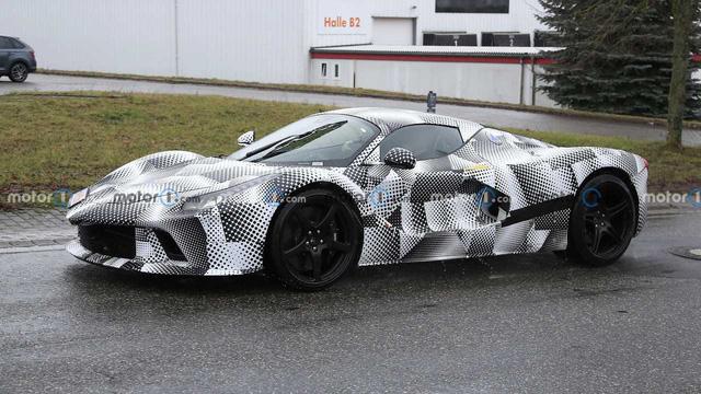 Siêu xe Ferrari mới kế thừa LaFerrari được xác nhận ra mắt ngay năm nay với hộp số hoài cổ - ảnh 4