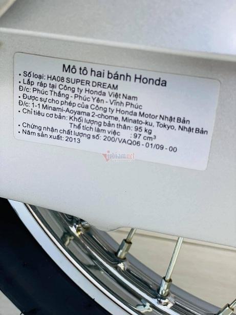 Honda Dream Việt biển ngũ 9 độc nhất miền Bắc giá gần 400 triệu đồng - ảnh 10
