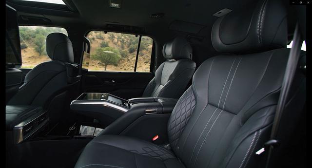 Ra mắt Lexus LX 600 thế hệ mới: Lột xác từ ngoài vào trong, phiên bản siêu sang cạnh tranh Mercedes-Maybach GLS 600 - ảnh 6