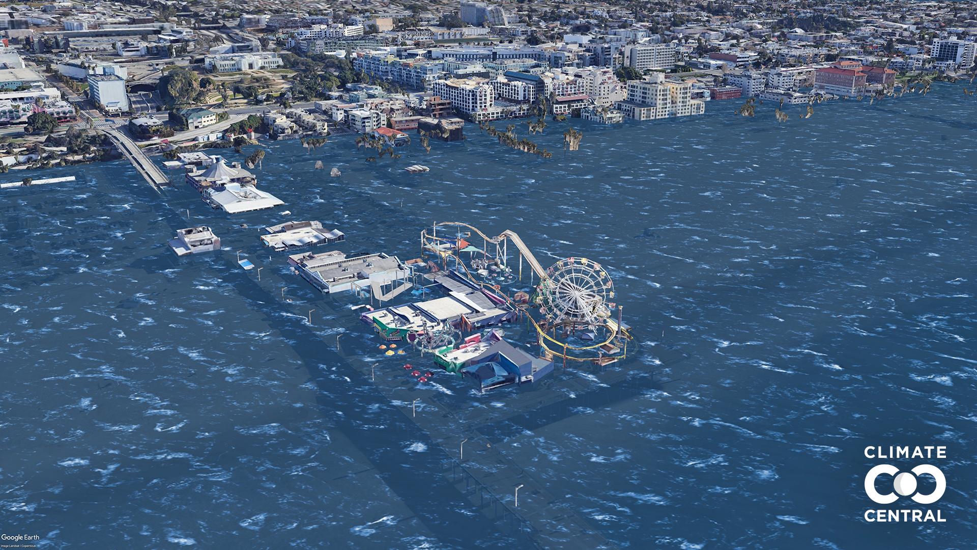 Các thành phố lớn sẽ thế nào nếu Trái đất tăng thêm 3 độ C? - ảnh 8