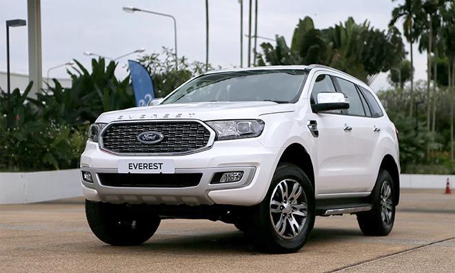 Giá xe Ford Everest lăn bánh tháng 10/2021 - ảnh 9