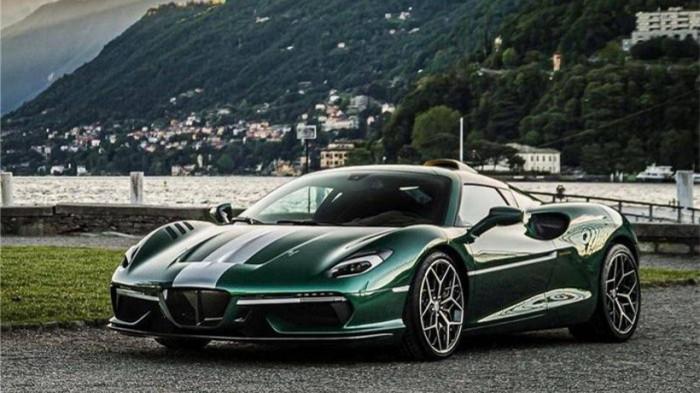 Siêu xe hàng hiếm lấy cảm hứng từ thiết kế của Ferrari - ảnh 1