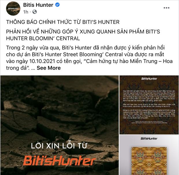 Chính thức: Biti's Hunter xin lỗi vì dùng gấm Taobao, phản ứng của netizen gây bất ngờ - ảnh 2