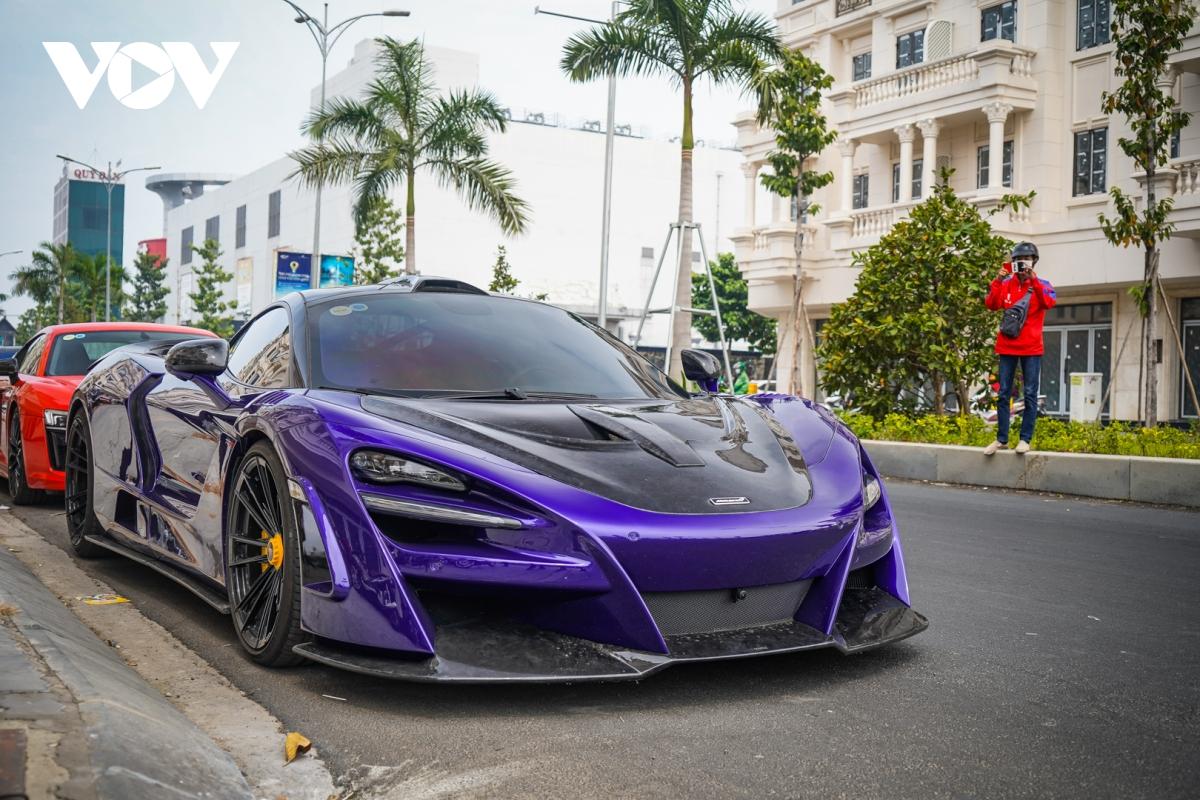 Siêu xe hàng hiếm lấy cảm hứng từ thiết kế của Ferrari - ảnh 16