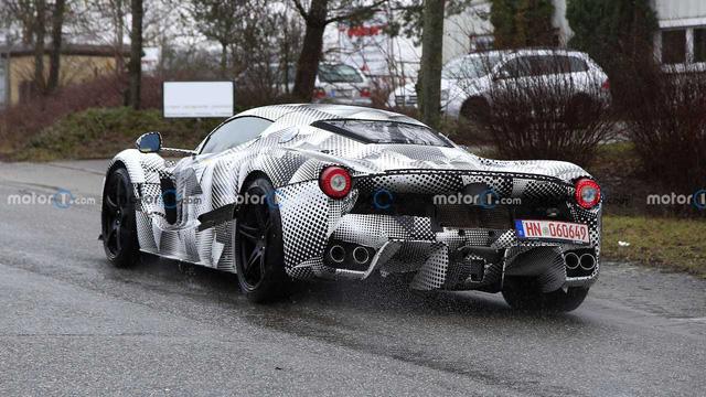 Siêu xe Ferrari mới kế thừa LaFerrari được xác nhận ra mắt ngay năm nay với hộp số hoài cổ - ảnh 5