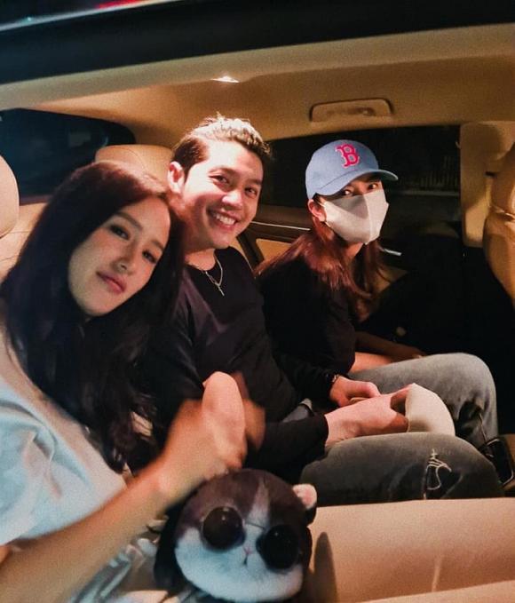 Ngồi chung xe cùng đàn chị, Mai Phương Thúy và Noo Phước Thịnh lại tung ''hint'' kiểu này thì ai chịu nổi - ảnh 1