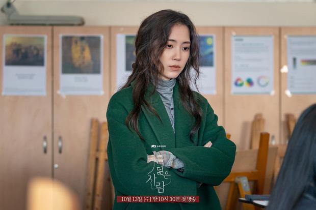 Netizen sốc visual nữ chính Hospital Playlist ở phim mới, thêm vai diễn