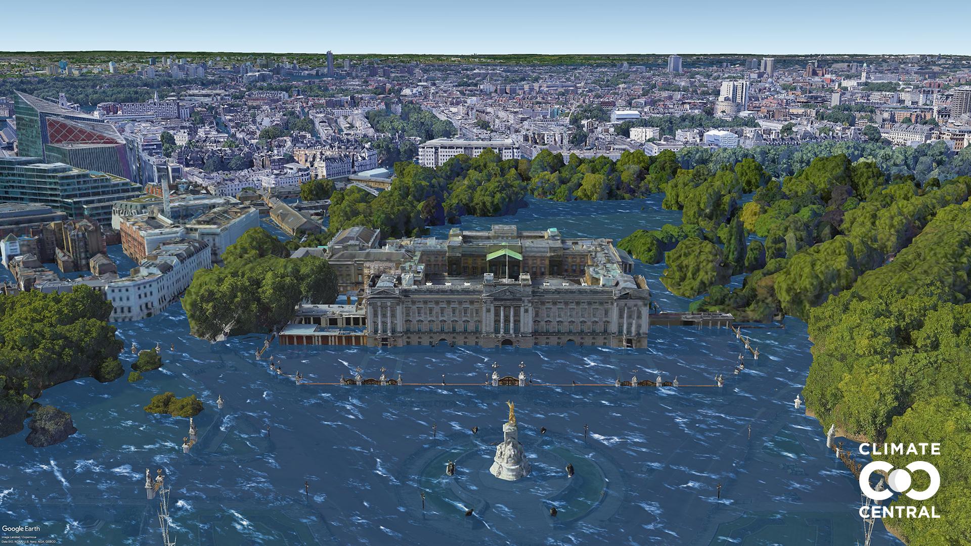 Các thành phố lớn sẽ thế nào nếu Trái đất tăng thêm 3 độ C? - ảnh 10