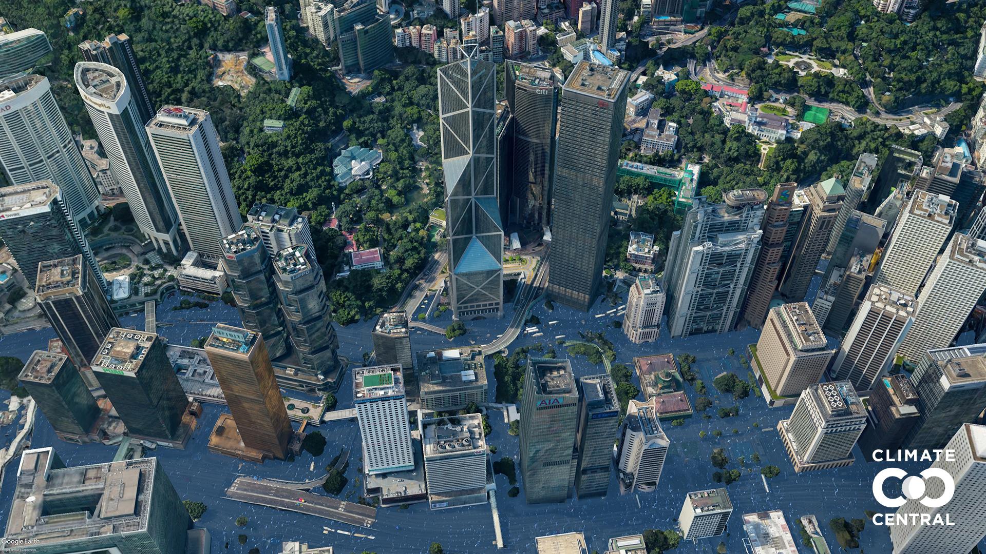 Các thành phố lớn sẽ thế nào nếu Trái đất tăng thêm 3 độ C? - ảnh 16