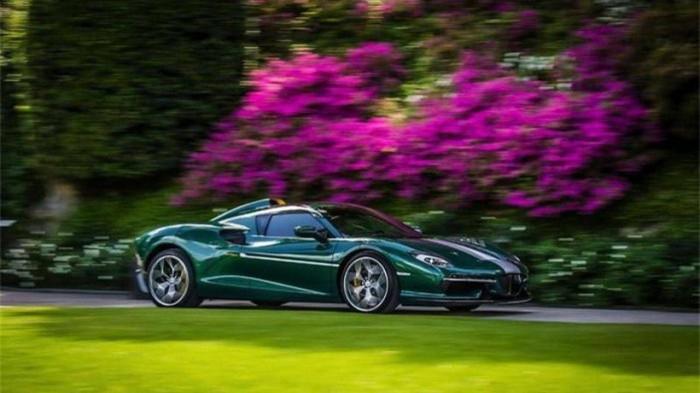 Siêu xe hàng hiếm lấy cảm hứng từ thiết kế của Ferrari - ảnh 8