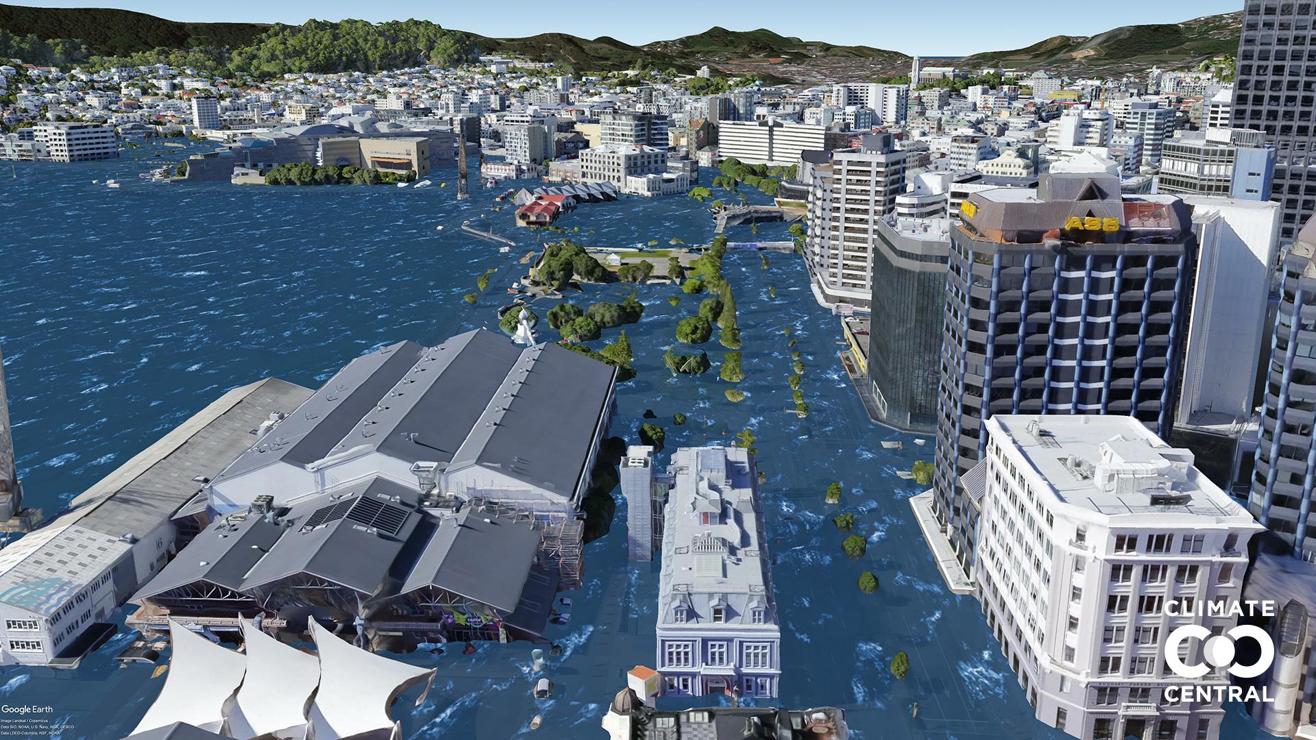 Các thành phố lớn sẽ thế nào nếu Trái đất tăng thêm 3 độ C? - ảnh 14