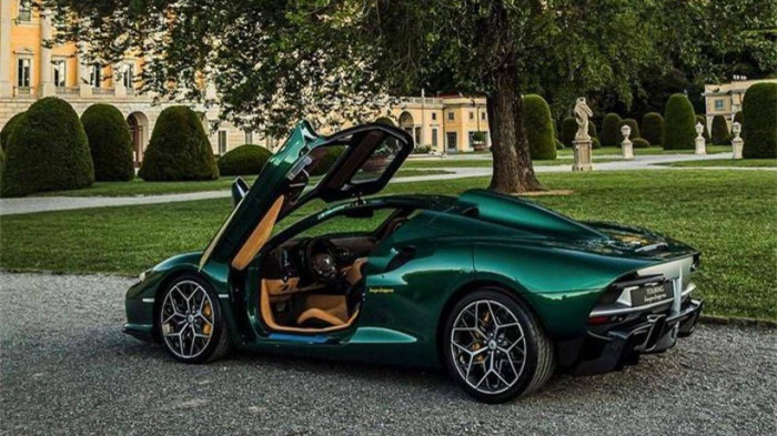 Siêu xe hàng hiếm lấy cảm hứng từ thiết kế của Ferrari - ảnh 5