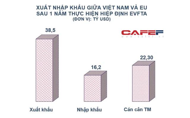 EU rót vốn hàng tỷ USD vào Việt Nam sau 1 năm thực thi EVFTA - ảnh 1
