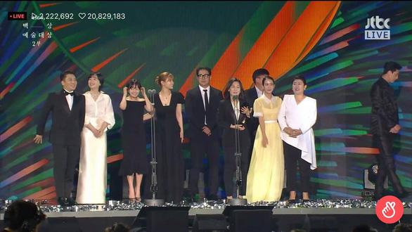 Ký sinh trùng và Khi hoa trà nở thắng đậm giải phim Baeksang Hàn Quốc - ảnh 2