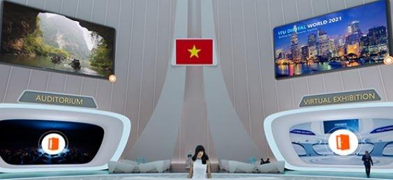 Thiết kế độc đáo của gian hàng Việt Nam tại ITU Digital World 2021 - ảnh 2