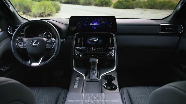 Ra mắt Lexus LX 600 thế hệ mới: Lột xác từ ngoài vào trong, phiên bản siêu sang cạnh tranh Mercedes-Maybach GLS 600 - ảnh 5