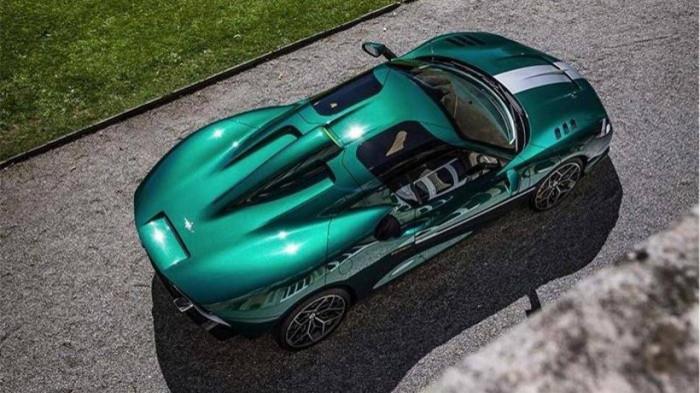 Siêu xe hàng hiếm lấy cảm hứng từ thiết kế của Ferrari - ảnh 2