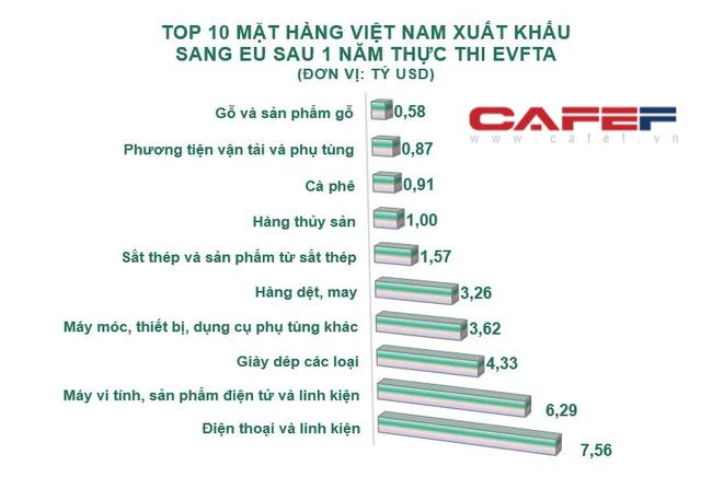 EU rót vốn hàng tỷ USD vào Việt Nam sau 1 năm thực thi EVFTA - ảnh 2
