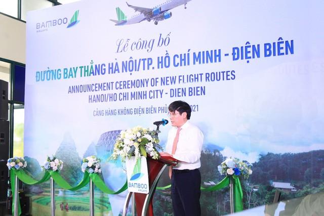 Bamboo Airways khai trương đường bay thẳng Hà Nội/TP Hồ Chí Minh - Điện Biên - ảnh 1