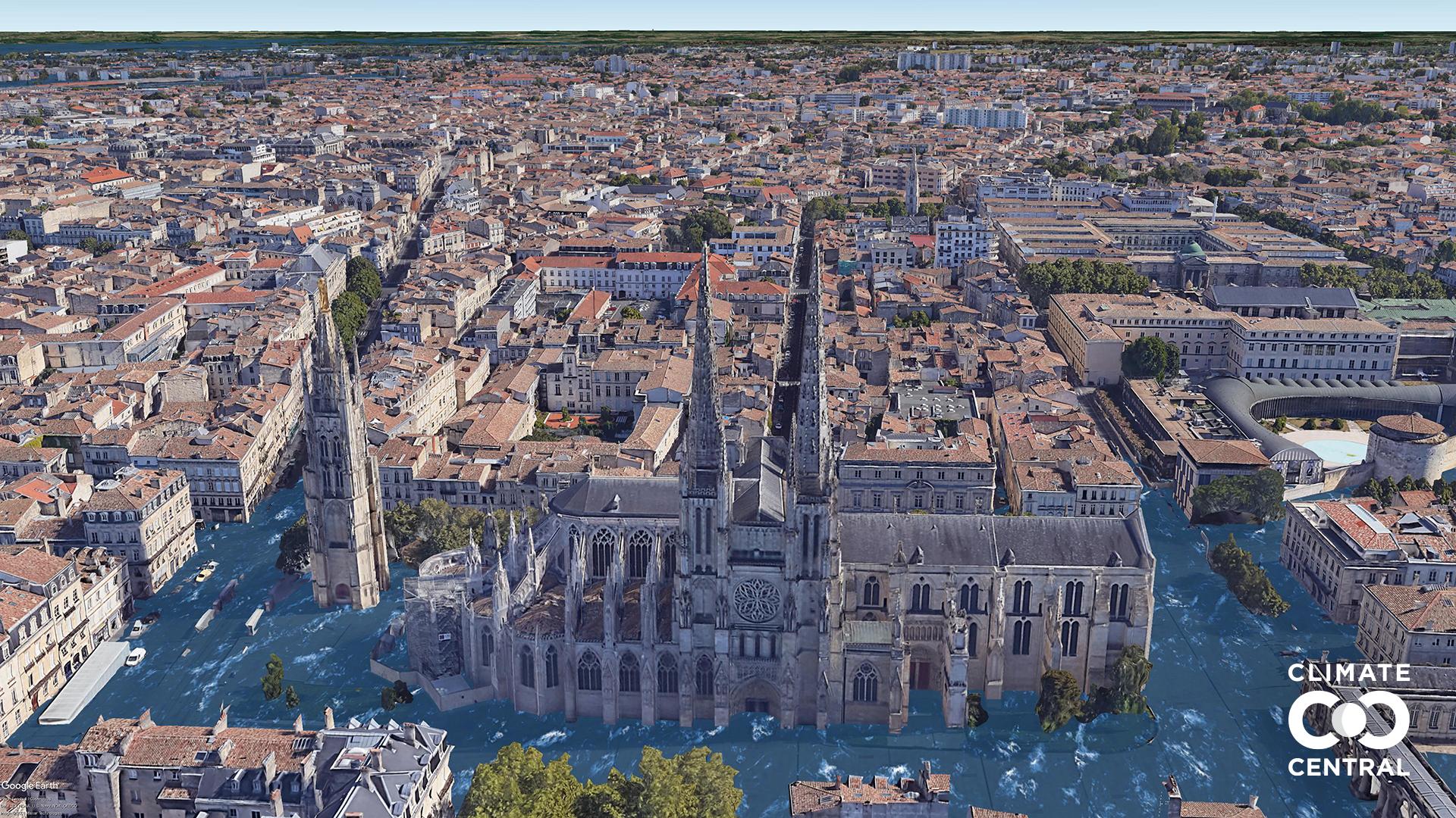 Các thành phố lớn sẽ thế nào nếu Trái đất tăng thêm 3 độ C? - ảnh 18