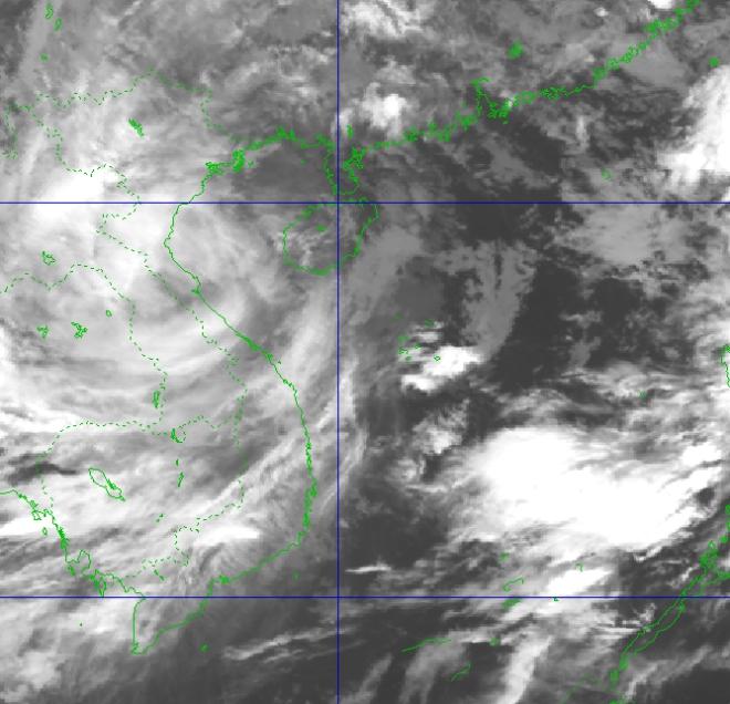 Bão số 8 suy yếu thành áp thấp nhiệt đới - ảnh 1