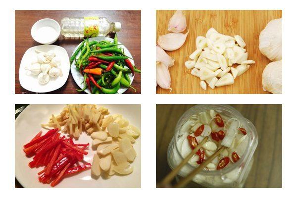 Món măng chua tỏi ớt đơn giản tại nhà - ảnh 3