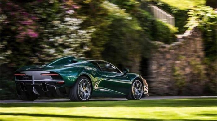 Siêu xe hàng hiếm lấy cảm hứng từ thiết kế của Ferrari - ảnh 4