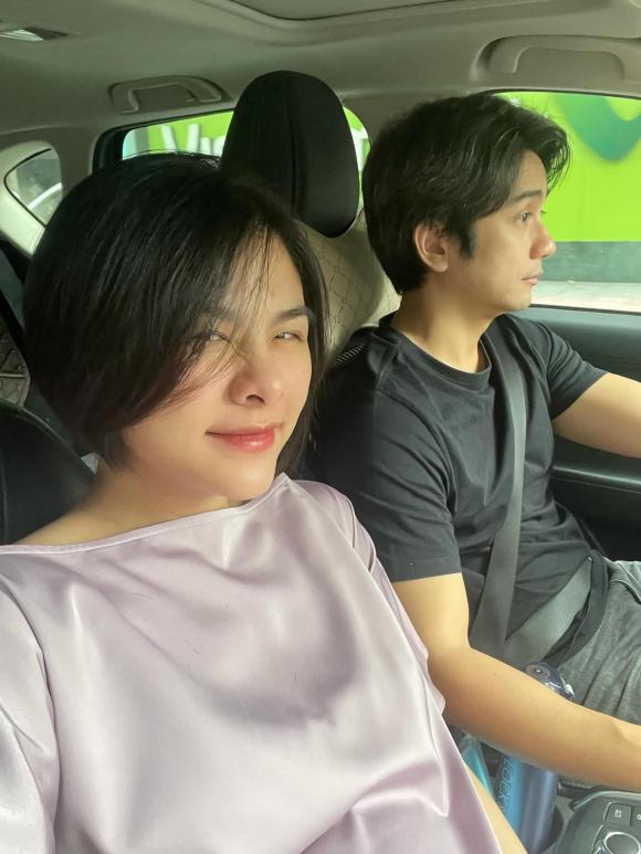 Mang bầu lần 2, Vân Trang bị ốm nghén nặng nhưng được chồng cưng chiều, bày đủ trò để dụ vợ ăn - ảnh 3