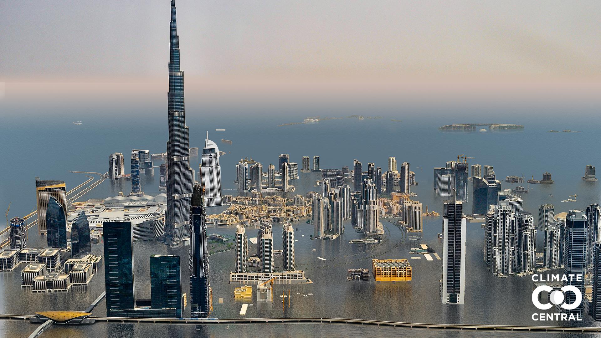 Các thành phố lớn sẽ thế nào nếu Trái đất tăng thêm 3 độ C? - ảnh 6
