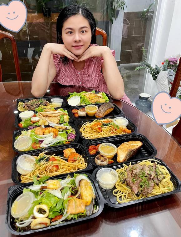 Mang bầu lần 2, Vân Trang bị ốm nghén nặng nhưng được chồng cưng chiều, bày đủ trò để dụ vợ ăn - ảnh 5