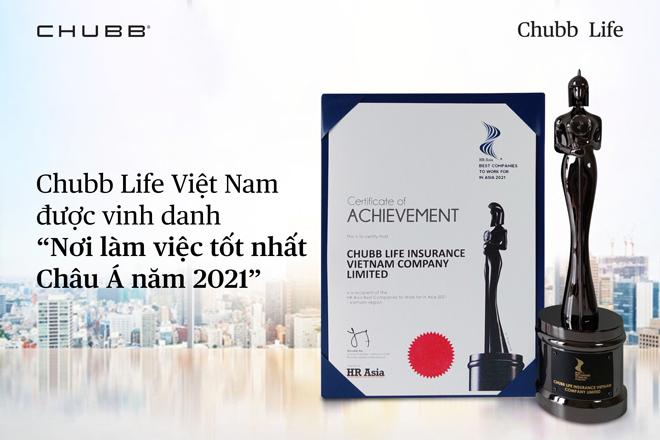"""Những yếu tố giúp Chubb Life Việt Nam nhiều năm liền được vinh danh """"Nơi làm việc tốt nhất Châu Á"""" - ảnh 1"""