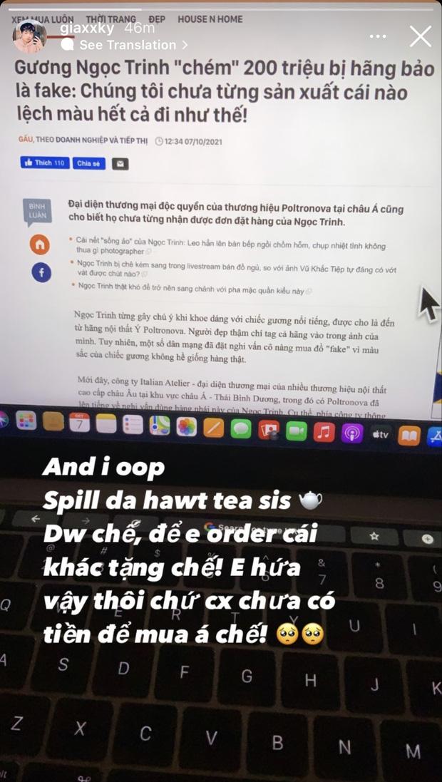 Danh tính fan boy nhà giàu bị Ngọc Trinh unfollow: Từng được idol khoe trên Instagram, 2 năm sau