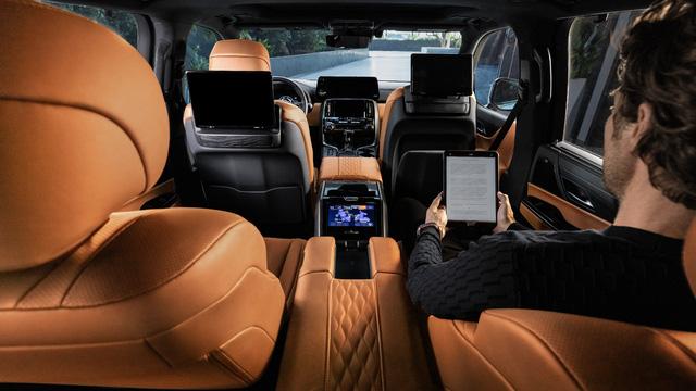 Ra mắt Lexus LX 600 thế hệ mới: Lột xác từ ngoài vào trong, phiên bản siêu sang cạnh tranh Mercedes-Maybach GLS 600 - ảnh 7
