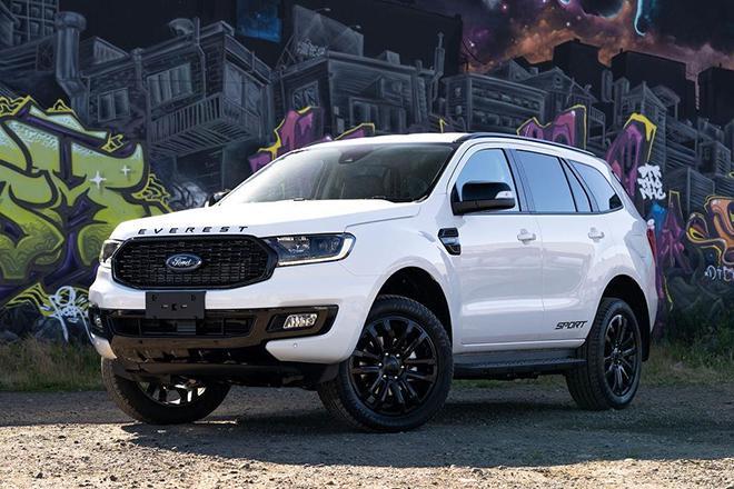 Giá xe Ford Everest lăn bánh tháng 10/2021 - ảnh 1