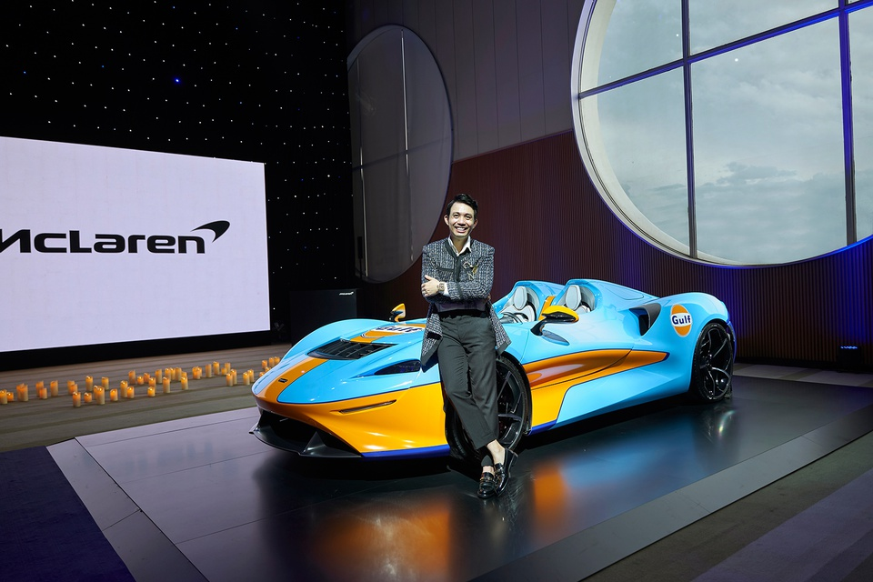 McLaren Elva xuất hiện tại TP.HCM cùng Minh Nhựa - ảnh 8