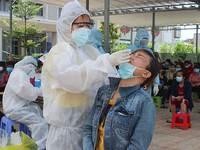 Đồng Nai thêm 215 ca dương tính với SARS-CoV-2