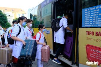 1.000 sinh viên y khoa TP.HCM tình nguyện tham gia chống dịch COVID-19