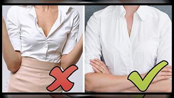 Những lỗi ăn mặc mà nàng công sở hay mắc phải gây mất thiện cảm trong mắt sếp và đồng nghiệp