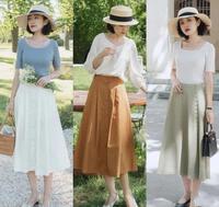 Ba kiểu váy dáng dài cho mùa hè