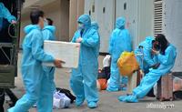 Cận cảnh phòng điều trị của Bệnh viện dã chiến số 5 tại Thuận Kiều Plaza vừa chính thức tiếp nhận F0