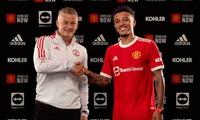 """NÓNG: Man Utd chính thức ra mắt """"bom tấn"""" Jadon Sancho"""