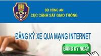 Khuyến khích người dân đăng ký xe trực tuyến, nộp phạt online để tránh lây lan dịch Covid-19