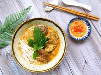 Trưa nay ăn gì: bún cà ri vịt, món ngon dân dã trưa hè