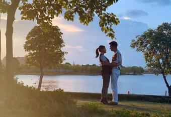 Lộ ảnh cưới và hậu trường ôm ấp cực tình của Long - Nam (Hương Vị Tình Thân): Sau tất cả mình lại về với nhau?