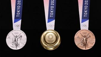 Huy chương ở Olympic Tokyo được làm từ... 6,21 triệu điện thoại di động cũ