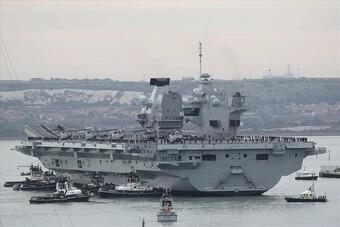 Việt Nam nói gì về việc Anh triển khai 2 tàu chiến ở châu Á?