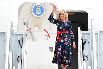 Đệ nhất phu nhân Mỹ dẫn đầu đoàn ngoại giao ủng hộ Thế vận hội Tokyo