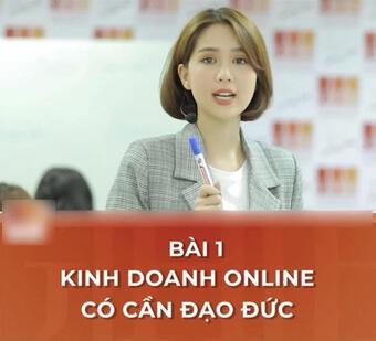 Ngọc Trinh giảng dạy kinh doanh online, nào ngờ bị mỉa mai quá khứ
